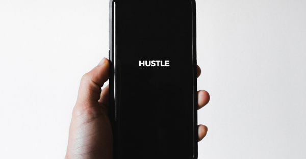 Side hustle online using your phone or computer from home
